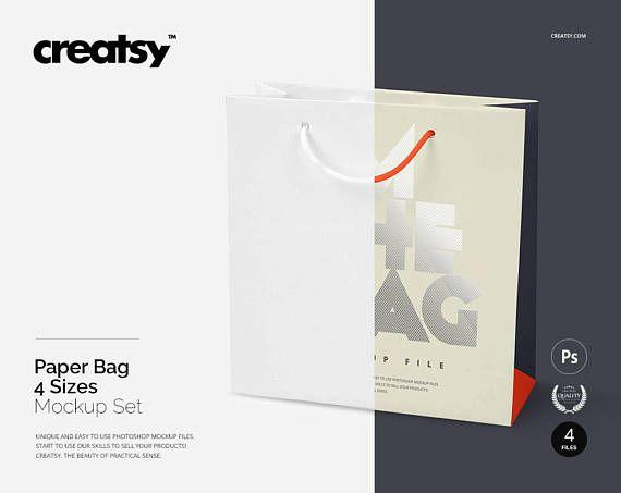 Download Free Paper Bag 4 Sizes Mockup Set Gift Bag Bifts Psd A Simple Yet Super Realistic Mockup Free Psd Mockups Templates Free Packaging Mockup Psd Mockup Template