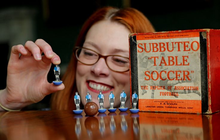 Bishop Auckland FC is the only amateur team to have its own Subbuteo kit. Come and see it at our Birth of the Blues exhibition @aucklandcastle 22nd May -28th September. #Football #NorthernLeague #History #BishopAuckland #FAAmateurCup #Exhibition #AucklandCastle