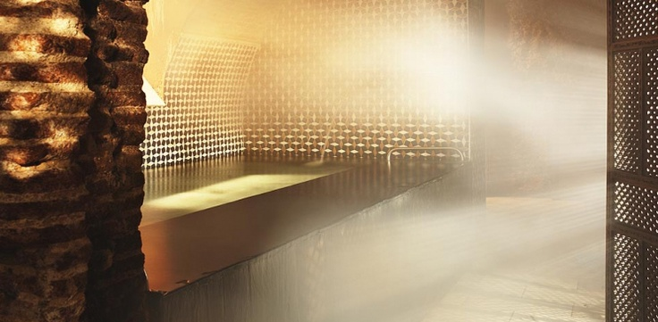 Things To Do In Madrid –Medina Mayrit Arabic Baths. Hg2Madrid.com.