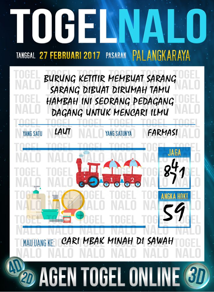 Lotre Taysen 4D Togel Wap Online Live Draw 4D TogelNalo Palangkaraya 27 Februari 2017