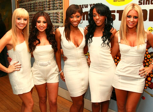 """Danity Kane.  Making the Band 3 winners. Their songs you could just want to dance to. Amazing  music. If you watched the show you would know how hard they worked. There will be no other girl group like them. Fav Song: """"Poetry"""""""