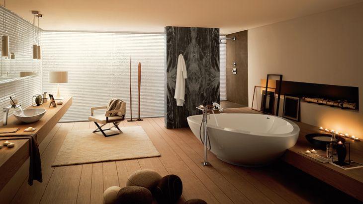 superb calm bathroom