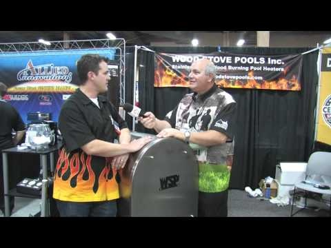 Wood Stove Pools In Vegas at the Pool and Spa show. This video is Wood Stove Pools on Welcome Home With Bill Rogers.