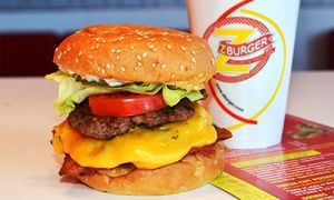 Groupon - $ 12 for $20 Worth of Burgers and Shakes at Z-Burger. Six Locations Available. in Multiple Locations. Groupon deal price: $12