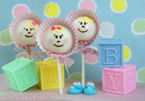 Baby Cake Pops by @candiquik guest post @pintsizedbaker #cakepop #baby