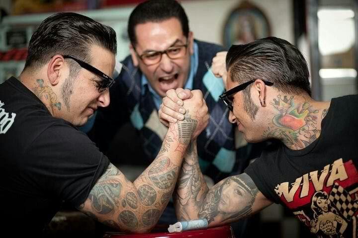 Rockabilly men rock my world!!