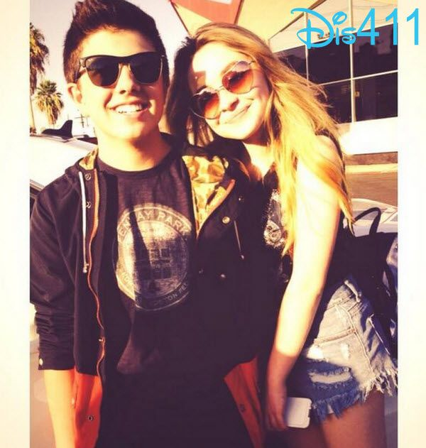 Photo: Bradley Steven Perry With Sabrina Carpenter