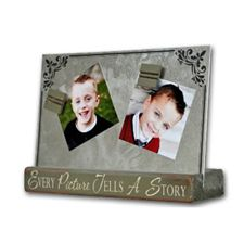 What Mom doesn't love to display pictures of her kids (or grandkids) A smaller version of our Long Magnetic Board, perfect for the Mom or Grandma with limited space.  Great gift idea for Mother's Day.