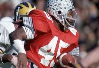 The only person to ever win the Heisman Trophy twice-Archie Griffin. Go Bucks!