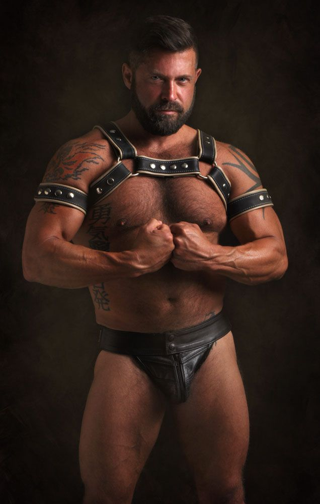 from Maxwell gay leather man picture