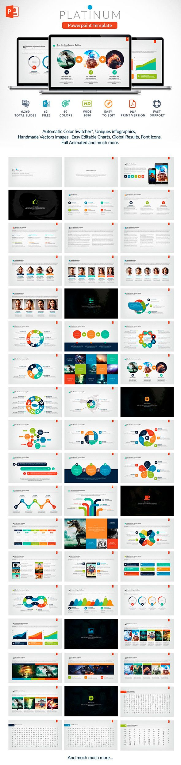 Platinum | Powerpoint Template - Business PowerPoint Templates