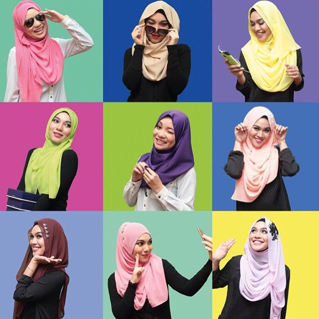 heartandshawl's photo on Instagram-12 styles, 12 tutorials, 12 weeks, 12 times the fun! #hijab #shawl #tudung #hijabstyles #muslimahfashion