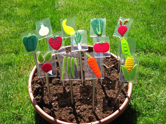 17 Best images about Garden Plant Markers – Garden Plant Signs