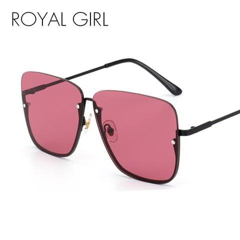 45f3fd2de8 Vintage Women Half Frame Fashion Brand Designer Male Sun Glasses ...