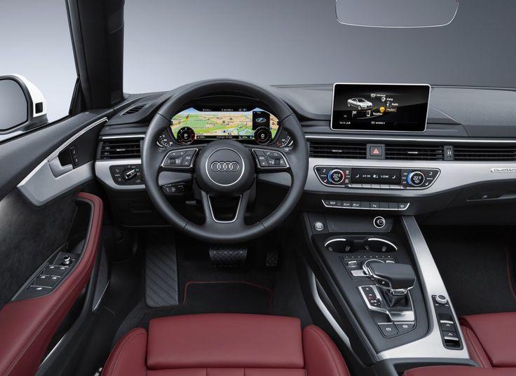 2017 Audi A5 Cabrio interior