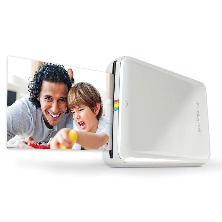 Polaroid ZIP Mobile Printer, White