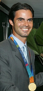 Show jumper Rodrigo Pessoa will be the Olympic flag bearer for Brazil. Word.
