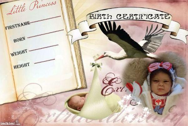 birth certificate tuva