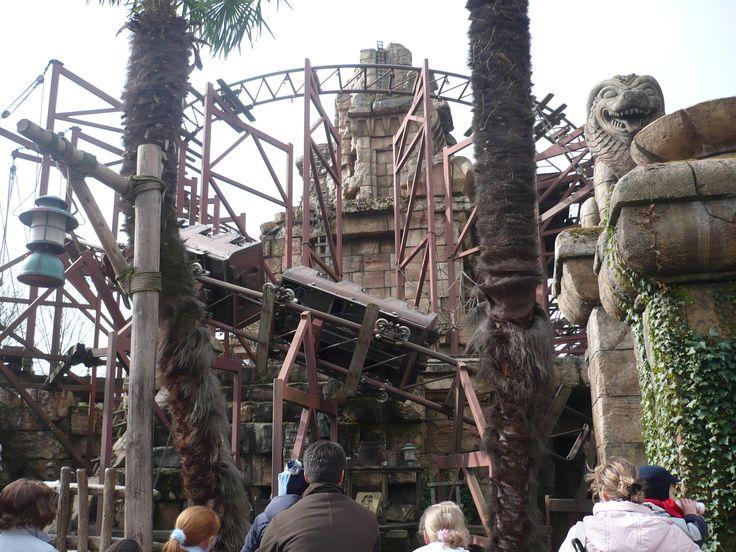 Eurodisney. Disneyland Paris. Walt Disney World. Indiana Jones.