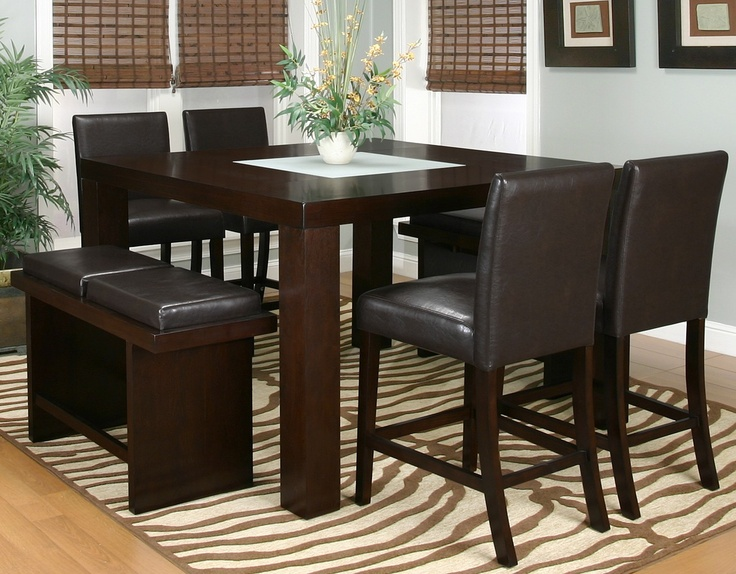Kemper Counter Height Dining Room Set With 2 Chair Options Cramco