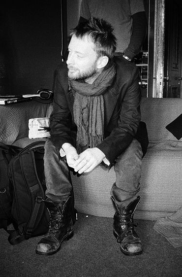 Thom Yorke. I like his descent into looking like a hobo even more!