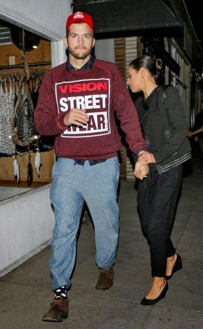 Yahya Mubarak: Ashton Kutcher and Mila Kunis Have Date Night Whil...