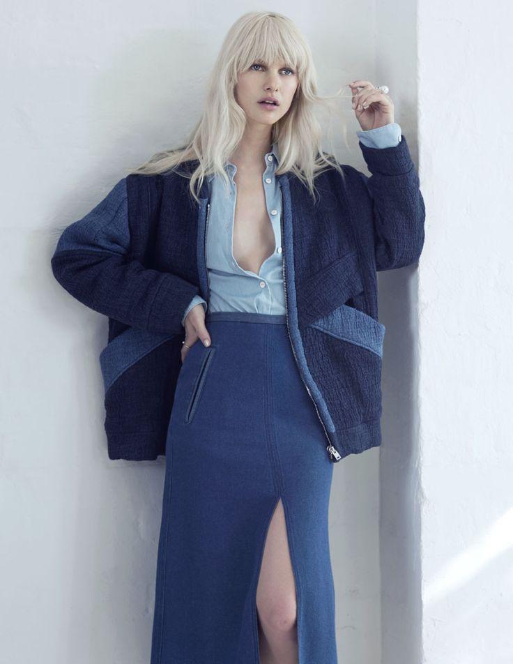 Hannah By Jordan Graham For Elle Australia March 2015