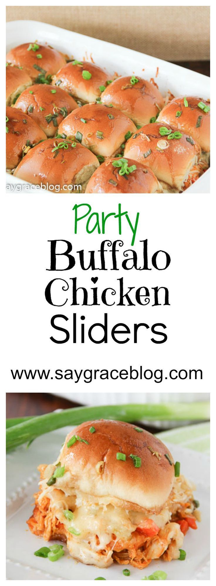 Party Buffalo Chicken Sliders