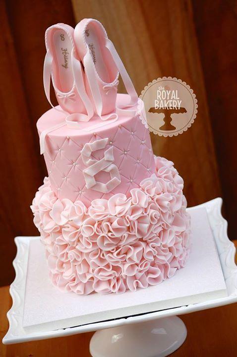 ballet birthday cake                                                       …