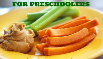 Healthy Snacks for Preschoolers