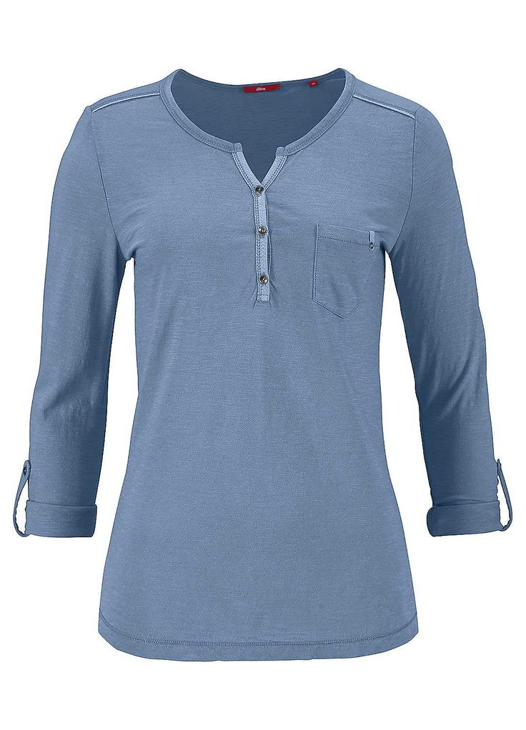 RED LABEL Henley Top by s.Oliver