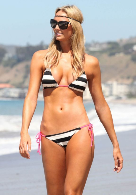 0a7d02e1fe Stacy Keibler 4x6 8x10 11x14 Beach Candid Photo (Select Size) WWE  046