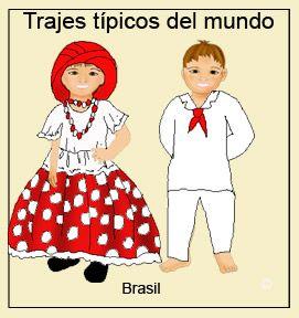trajes del mundo