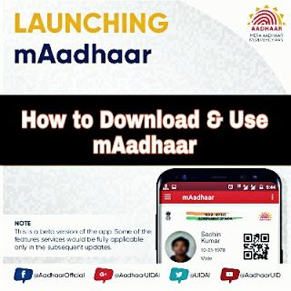 How to Download and use mAadhaar step by step  Aadhaar is new identify biometric card in India to bring whole country and separately allows Indian citizens to bypass payment transaction in biometric ways. Aadhaar is mandatory in india plus whatever you do or what you going to do need aadhaar verification with biometric process.The mAadhaar app has been launched in july 2017 by Unique Identification Authority of India.