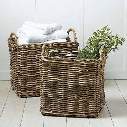 Large Kubu Basket - Set of 2 | The White Company