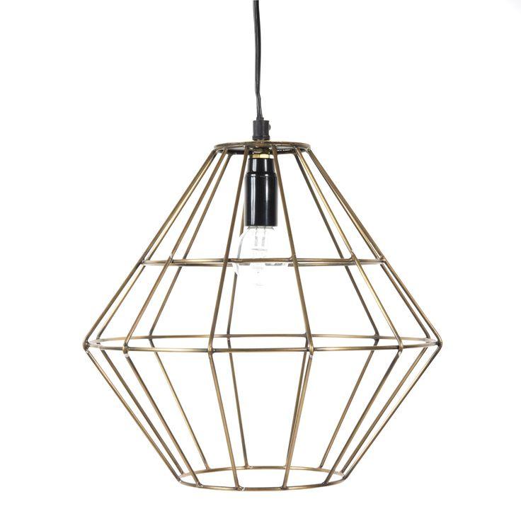 Lampada a sospensione in metallo D 26 cm SOHO