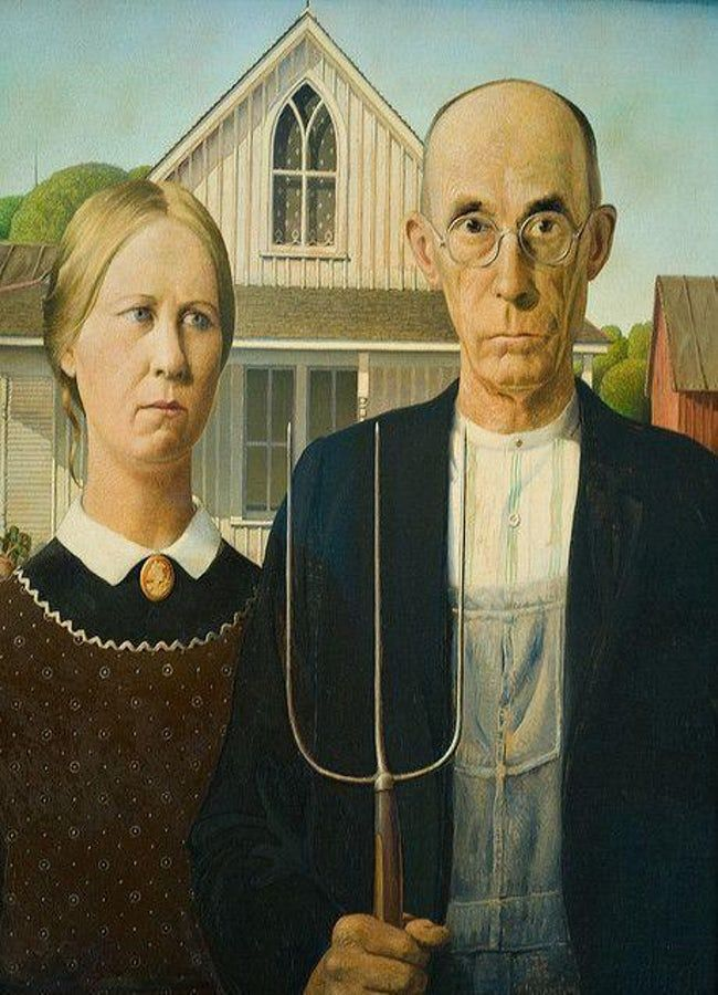 The Greatest Painters Of All Time Famous Art Pieces American Gothic Famous Art Paintings