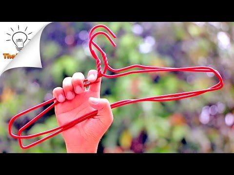 20 Hangers Life Hacks Everyone Should Know - YouTube