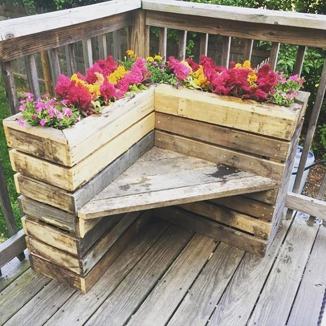 Paletten Garten Ideen Garten Ideen Paletten Garten Ideen Paletten Pallet Outdoor Outdoor Flower Boxes Pallet Furniture Outdoor