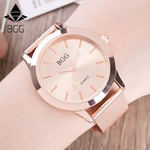 2016 New Famous Brand Women Rose Gold Stainless Steel Quartz Watch Military Crystal Casual Analog Watches Relogio Feminino Hot(China (Mainland))