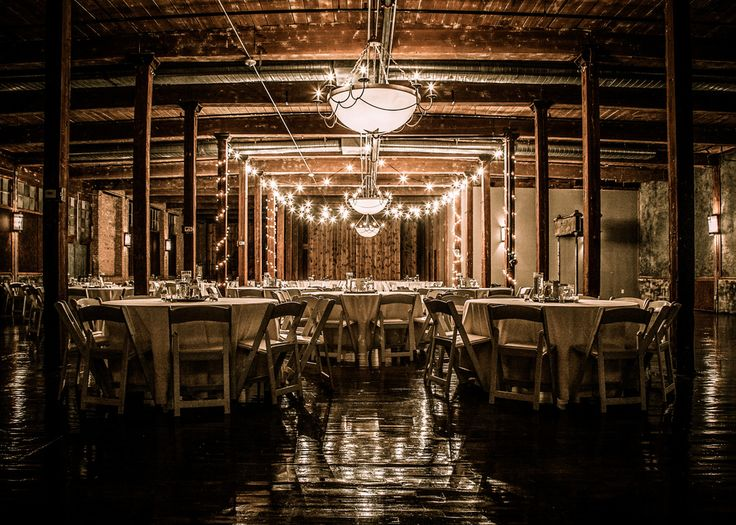 The Cotton Mill McKinney, TEXAS Cafe Lights-Nighttime.jpg