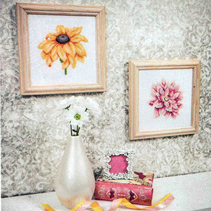 Brilliant Blooms - Available in The World of Cross Stitching 216