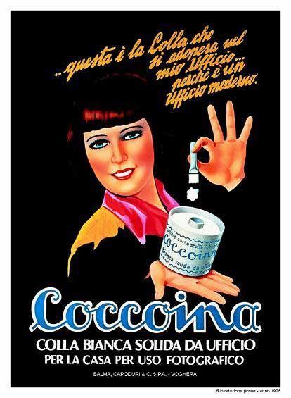 Coccoina - La storia della colla coccoina