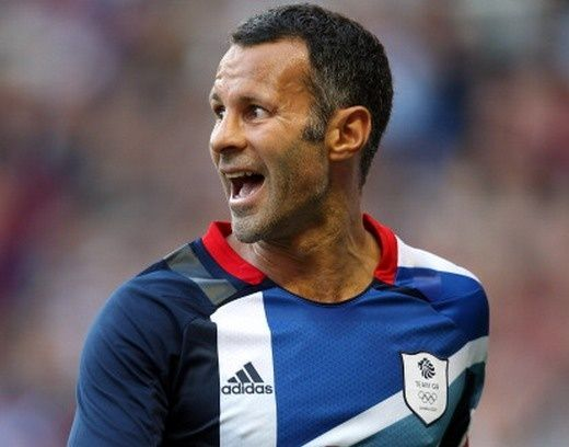Giggs Captain Team GB