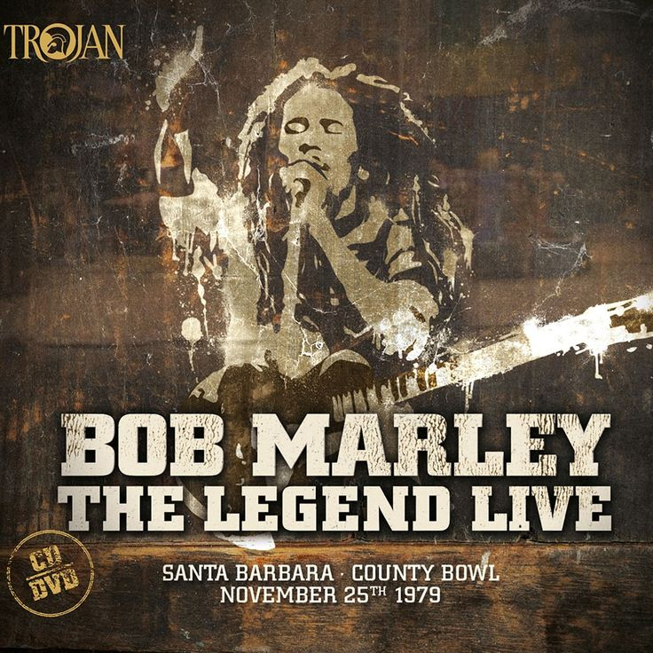 Bob & The Wailers Marley - The Legend Live: Santa Barbara County Bowl: November 25th 1979