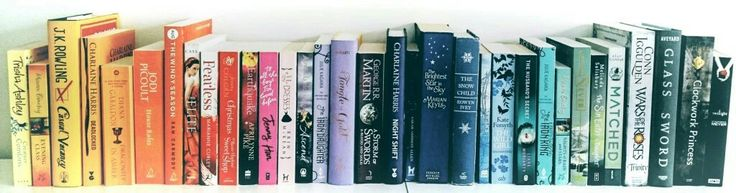 Book rainbow art from a selection of my favourite authors. Thinking of blowing it up on canvas.