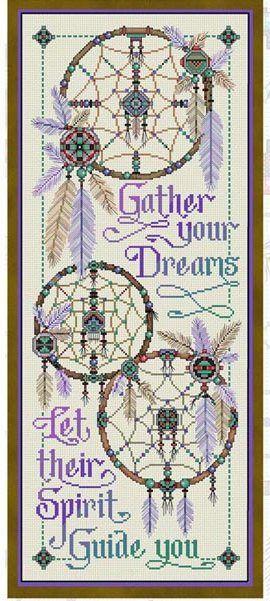 Dreamcatcher Cross Stitch