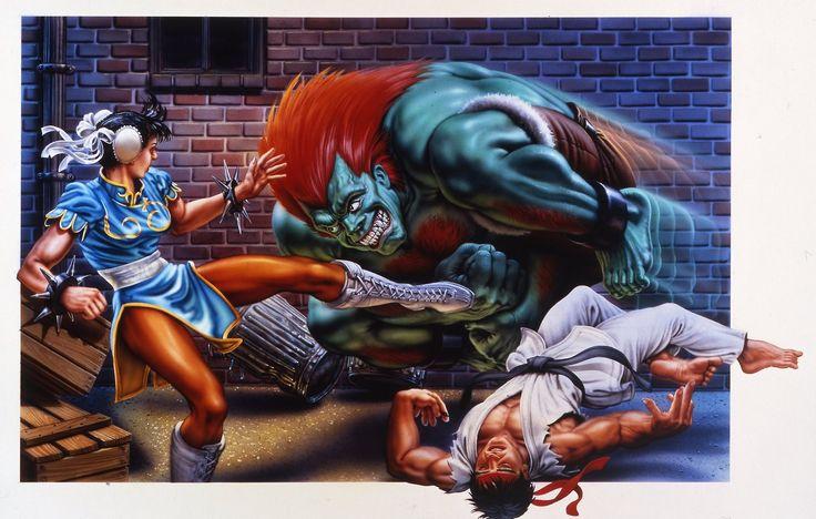 16-bit Street Fighter Cover