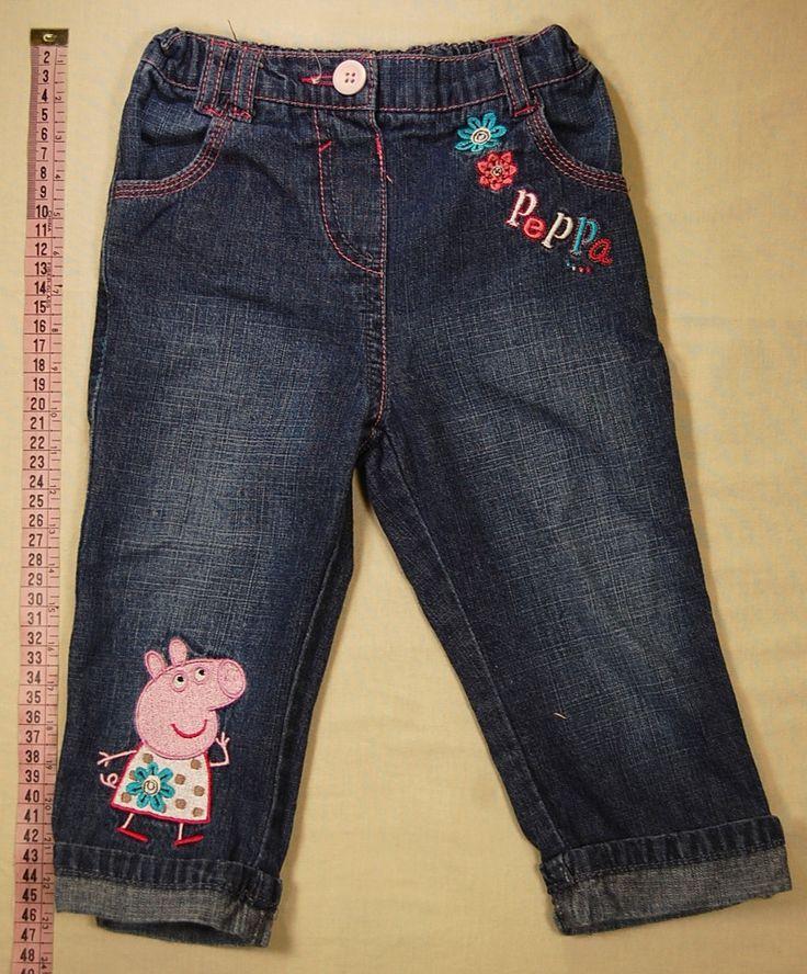 890 Ft.    Nadrág - sötétkék, Peppa Pig mintás (George)