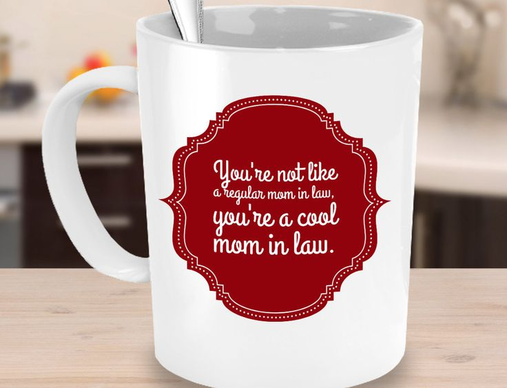 Mother in law gift, valentines day gift for mother in law, mothers day mug for mother in law, mom in law mug, mom in law gift, mothers day by BarborasBoutique on Etsy